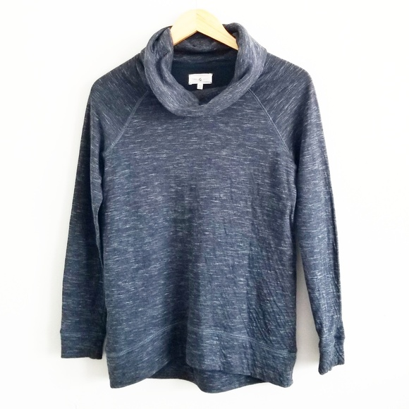 9cf6bfd6b8e6b Lou   Grey Tops - LOFT Lou   Grey Space Dye Cowl Neck Sweatshirt
